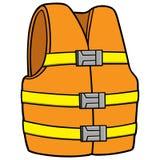 Veste da segurança da água Imagem de Stock