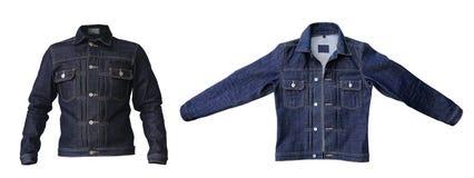 Veste de denim de jeans photo stock