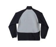 Veste de sport avec le dos de blanc Photo stock