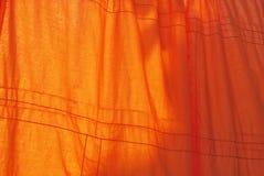 Veste de uma monge budista Imagens de Stock Royalty Free