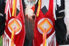 Veste do nativo americano imagem de stock