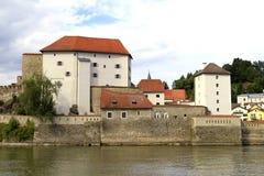 Veste Niederhaus w Passau, Bavaria Obrazy Stock