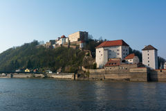 Veste Oberhaus, castle in Passau, Germany Royalty Free Stock Photo
