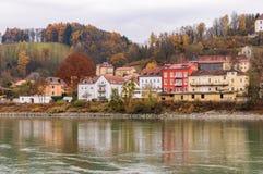 Veste Oberhaus, eine alte Festung in Passau, Deutschland Lizenzfreie Stockbilder