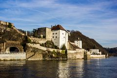 Fortress that was founded in 1219, Passau, Germany Stock Photography