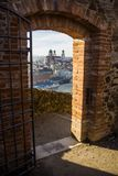 Fortress that was founded in 1219, Passau, Germany Royalty Free Stock Photo