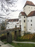 Veste Oberhaus is an old fortress in Passau, Germany Stock Image