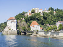 Veste Oberhaus Passau Royalty Free Stock Photos