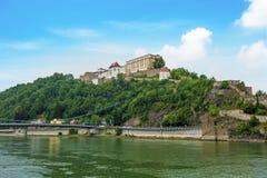 Veste Oberhaus, Passau, Niemcy zdjęcia royalty free