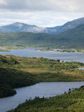 Vesteralen coastal landscape Stock Image
