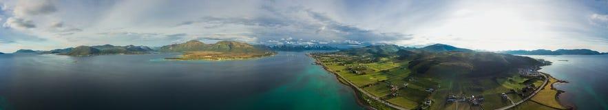 Vesteralen islands Stock Image