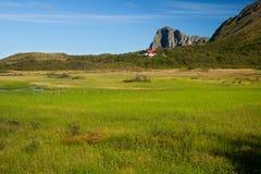 Vesteralen in Noorwegen Royalty-vrije Stock Afbeeldingen