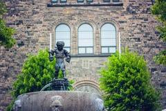 Vesterbrogade 伊莱贾的教会哥本哈根,丹麦 免版税库存照片