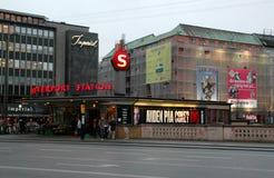 Vesterport station Fotografering för Bildbyråer