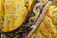 Vestes imperiais de China Qing Dynasty Fotos de Stock