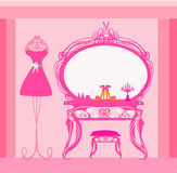 Vestiaire de style élégant Image stock