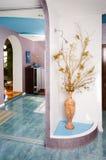 Vestibolo (Corridoio) una stanza del cottage. Immagine Stock Libera da Diritti