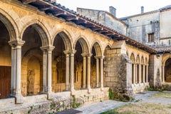 Vestibolo del convento in Saint Emilion Immagine Stock