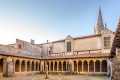 Vestibul del convento Saint Emilion - in Francia Immagine Stock