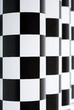 Vestibule Checkered Photos libres de droits