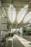 Vestibule dans l'aéroport Photos libres de droits