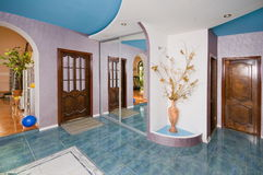 Vestibule(Hall) A Cottage Room. Royalty Free Stock Photography