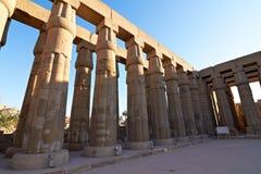 Vestibule processionnel d'Amenhotep III Photos stock
