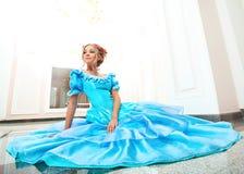 Vestido azul Imagem de Stock
