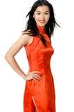Vestido chinês Imagens de Stock Royalty Free