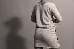 Vestido con las cremalleras Fotos de archivo libres de regalías