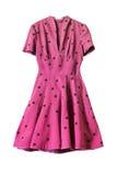 Vestido cor-de-rosa Imagem de Stock