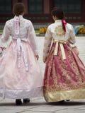 Vestido coreano tradicional Foto de Stock Royalty Free