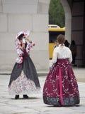 Vestido coreano tradicional Imagens de Stock Royalty Free