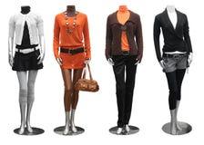 Vestido da forma no mannequin imagem de stock royalty free