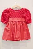 Vestido da menina Fotos de Stock