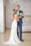 Vestido da noiva da rotação imagens de stock royalty free