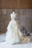 Vestido de boda Foto de archivo libre de regalías