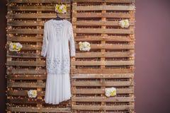 Vestido de boda imagenes de archivo