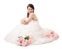 Vestido de boda Foto de archivo