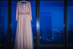 Vestido de boda fotografía de archivo