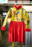 Vestido de boda tradicional chino Foto de archivo
