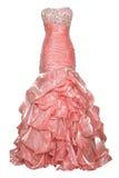 Vestido de bola rosado Imágenes de archivo libres de regalías