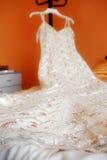 Vestido de casamento Imagem de Stock