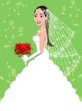 Vestido de casamento 5 Imagens de Stock Royalty Free