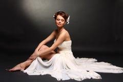 Vestido de casamento Foto de Stock