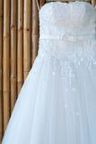 Vestido de casamento Imagem de Stock Royalty Free