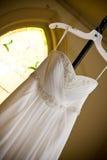 Vestido de casamento Fotografia de Stock