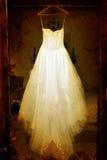 Vestido de casamento de Grunge Imagem de Stock Royalty Free