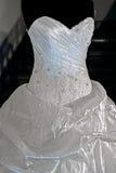 Vestido de casamento. Detail-22 Imagens de Stock Royalty Free