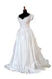Vestido de casamentos Fotografia de Stock